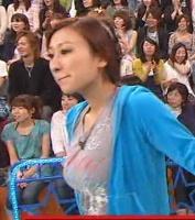 浅田舞のバストサイズが上昇